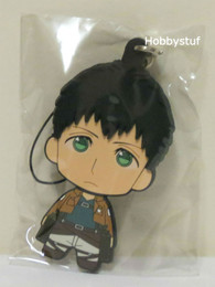 Attack on Titan Part 2 Rubber Straps Picktami! Changeable Face Bertolt Hoover