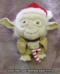 Star Wars Super Deformed Santa Yoda Plush
