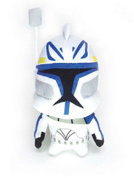 Star Wars: Super Deformed Captain Rex Clone Trooper Doll Plush