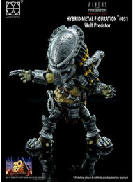 Alien Vs. Predator Requiem: Wolf Predator Hybrid Metal Figuration Action Figure