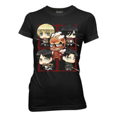 Attack on Titan Chibi Characters JRS T-Shirt