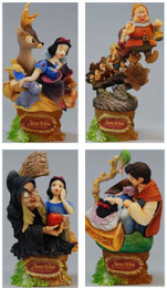 Disney Formation Arts: Snow White Edition Trading Figure Set of 4