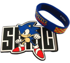 Sonic the Hedgehog Belt Buckle and Wristband Set