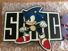 Sonic The Hedgehog: Sonic Stance & Name Belt Buckle