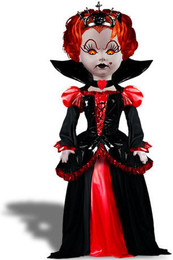 Living Dead Dolls Alice In Wonderland Inferno as Queen of Hearts