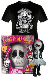 Living Dead Dolls Retro Halloween Set CALAVERA