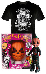 Living Dead Dolls Retro Halloween Set PUMPKIN