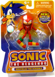 Sonic The Hedgehog: Knuckles The Echidna 3 inches Action Figure