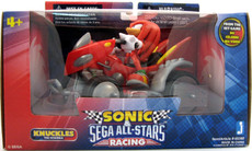 """Sonic: Racer 3"""" Knuckles Figure with 5"""" Vehicle Figure"""