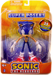 """Sonic The Hedgehog: Super Posers Super Sonic 5"""" Action Figure"""