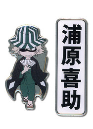 Bleach: Urahara Kisuke and Kanji (Set of 2) Pins