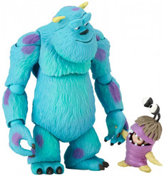 Revoltech: Disney Sulley and Boo Collection No.006 Action Figure (Monsters Inc.)