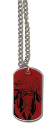 Black Butler: Grell Dog Tag Necklace