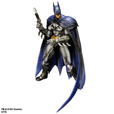Batman Arkham City Batman Play Arts Kai Action Figure