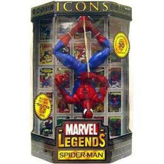 "Marvel Legends Icon: Spider Man 12"" Action Figure"