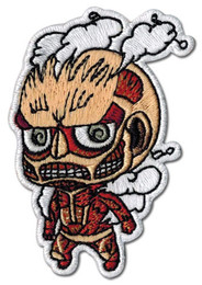 Attack on Titan: SD Colossal Titan Iron on Patch