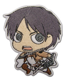Attack on Titan SD Eren Iron on Patch