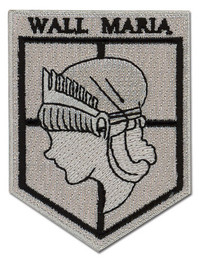 Attack on Titan: Wall Maria Iron on Patch