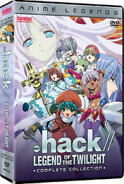.Hack//Legend of The Twiligh Collection DVD (Anime Legends)