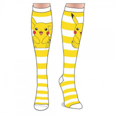 Pokemon: Pikachu Stripes Knee High Socks
