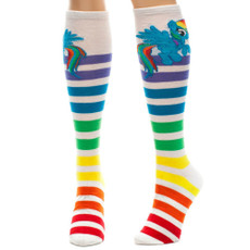 My Little Pony: Rainbow Dash Stripe Knee High Socks