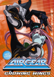 Air Gear Growing Wings Vol. 02 DVD