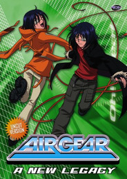Air Gear: A New Legacy Vol. 03 DVD
