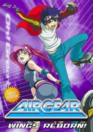 Air Gear Wings Reborn Vol. 04 DVD