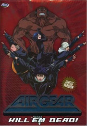 Air Gear Kill'Em Dead Vol. 06 DVD