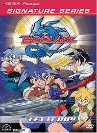 Beyblade Vol. 01: Let it Rip! DVD (Geneon Signature Series)