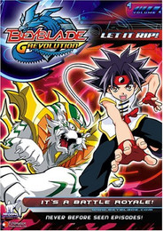 Beyblade Grevolution: Let It Rip - It's a Battle Royale! Vol.4 DVD