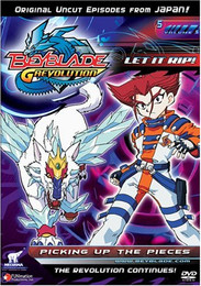 Beyblade G Revolution: Picking Up the Pieces Vol. 05 DVD