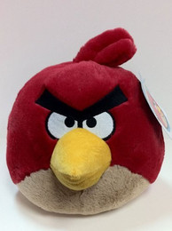 Angry Birds Red Bird 5 Inch Deluxe Plush (No Sound)