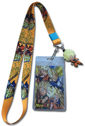Dragon Ball Super - Father & Sons / SS Goku Charm Ver. 1  Lanyard ID Holder with Charm