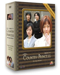 Korean TV Drama Country Princess Box Set DVD (US Version)