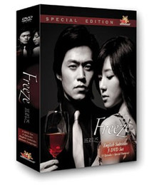 Korean TV Drama Freeze Box Set DVD (US Version)