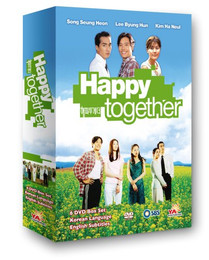 Korean TV Drama Happy Together Box Set DVD