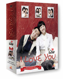 Korean TV Drama I Love You Box Set DVD (US Version)