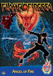 Flame of Recca: Angel of Fire Vol. 03 DVD