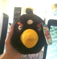 Angry Birds Black Bird 5 Inch Deluxe Plush (No Sound)