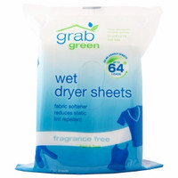 Grab Green Wet Dryer Sheet