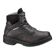 "Wolverine® Men's DuraShocks® SR Steel-Toe Direct-Attach EH 6"" Black Work Boot"