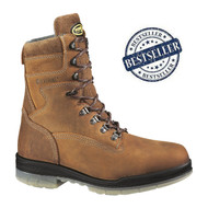 "Wolverine® Men's DuraShocks® Waterproof Insulated Steel-Toe EH 8"" Work Boot"