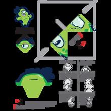 Good Germ Origami Bookmark Download