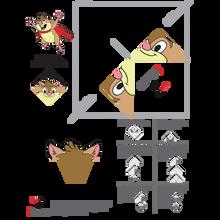 Pelusita Origami Bookmark Download
