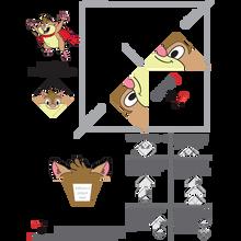 Pelusita Spanish Origami Bookmark Download