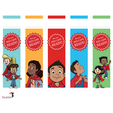 Download Red Cape Motivational Bookmark