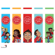 Red Cape Spanish Motivational Bookmark Download