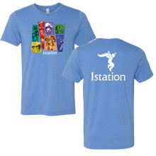 NEW Character T-Shirt - Heather Columbia Blue
