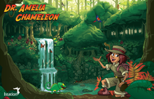 "Amelia Chameleon Poster - 11"" x 17"" (Pack of 5)"